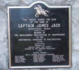 Captain James Jack Plaque Compressed